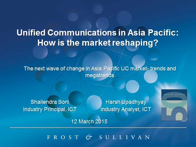 Unified Communications in Asia Pacific: How is the market reshaping?