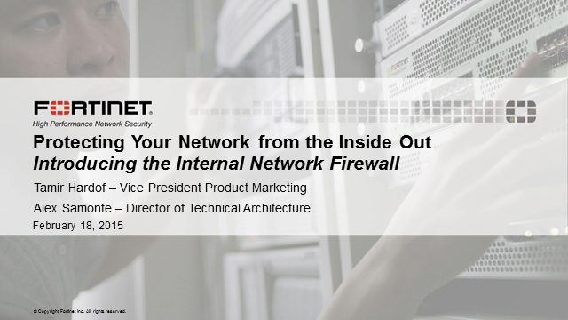 Protecting Your Network from the Inside Out