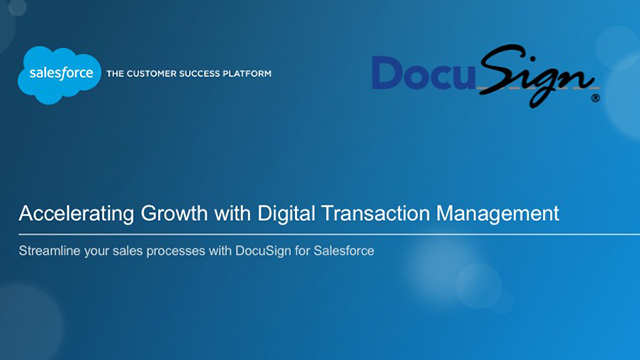 Accelerate Sales Growth with Digital Transaction Management