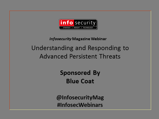 Understanding and Responding to Advanced Persistent Threats