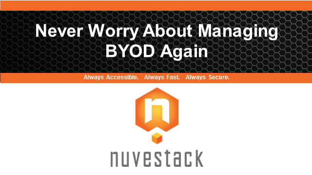 Never Worry About Managing BYOD Again!