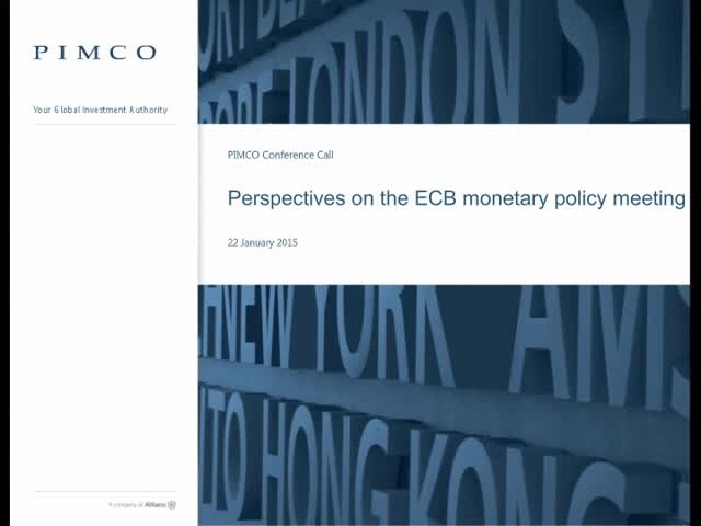 Perspectives on the ECB monetary policy meeting