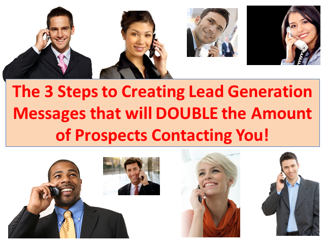 3 Steps to DOUBLE the Amount of Prospects Contacting You!