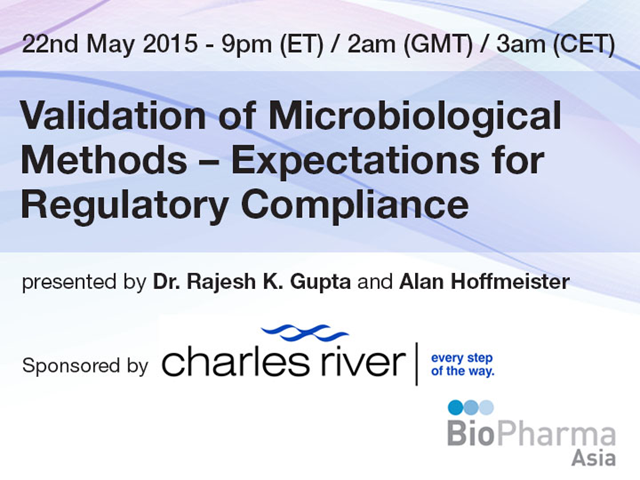 Validation of Microbiological Methods – Expectations for Regulatory Compliance