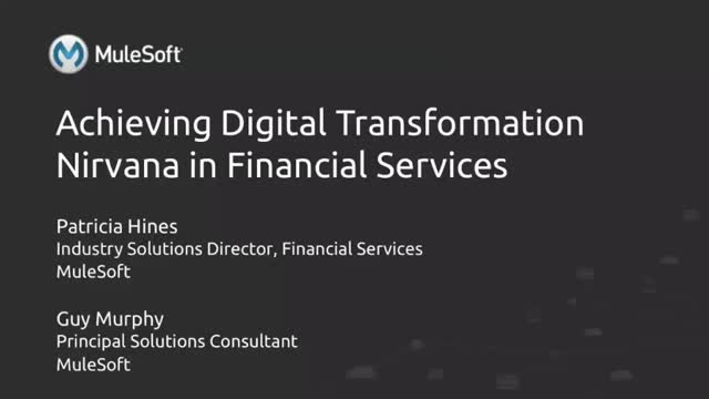 Achieve Digital Nirvana in Financial Services