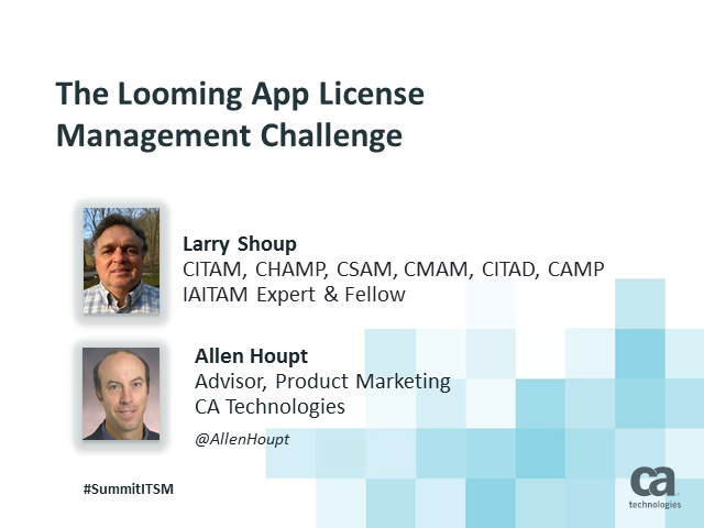 The Looming App License Management Challenge