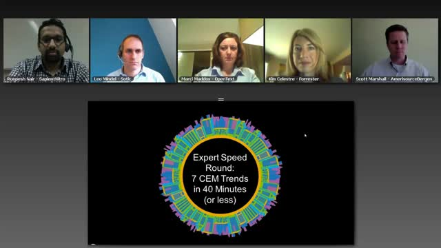 Expert Speed Round: 7 CEM Trends in 40 Minutes