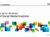 IBM Social Media Analytics - mehr als nur Monitoring