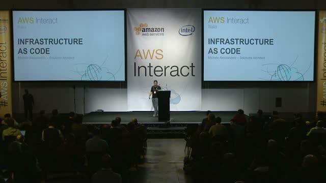 AWS Interact Milan - Infrastructure as Code by Michele Alessandrini