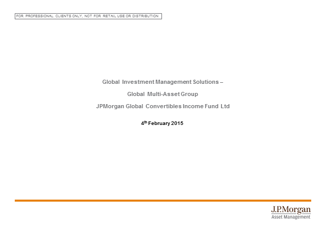 Fund update: JPM Global Convertibles Income Fund