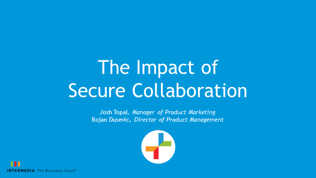 The Impact of secure collaboration