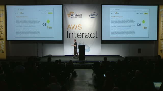 AWS Interact Milan - Enhancing mobile applications by Danilo Poccia