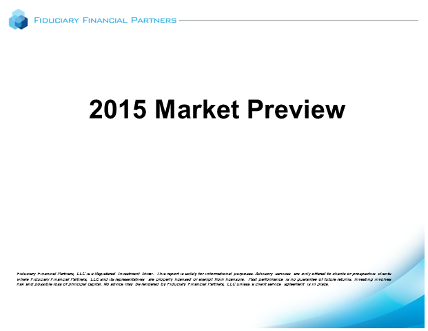 2015 Market Preview