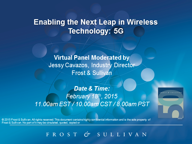Enabling the Next Leap in Wireless Technology: 5G