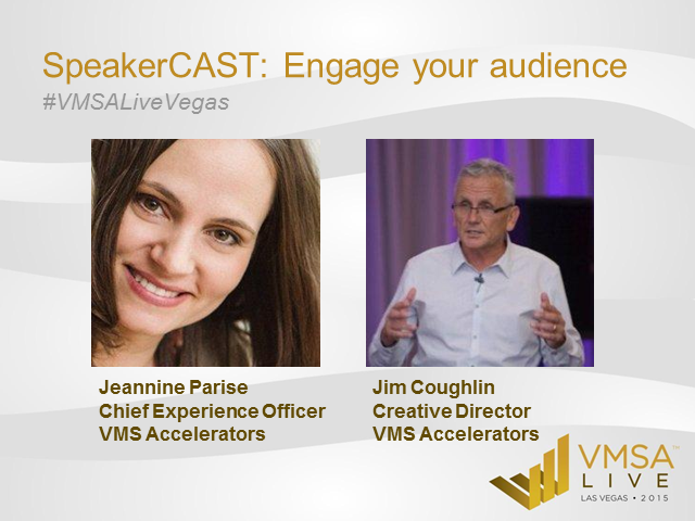 SpeakerCAST: Speakers, Panelists, Moderators, Facilitators UNITE!