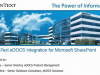 eDOCS Integration for Microsoft Sharepoint