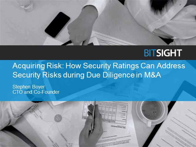 The Overlooked Aspect of M&A Due Diligence: Info Security Risk