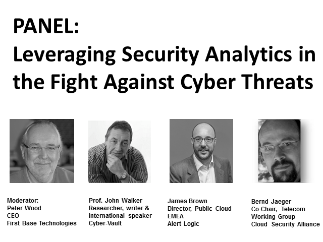Panel: Leveraging Security Analytics in the Fight Against Cyber-Threats