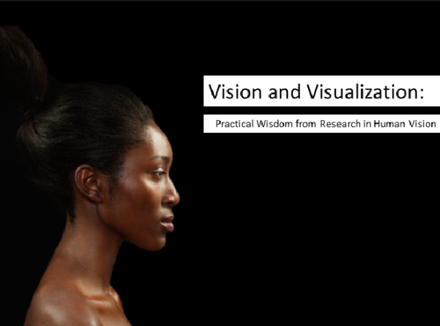 Vision and Visualization: Practical Wisdom from Research in Human Vision