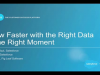 Grow Faster with the Right Data at the Right Moment