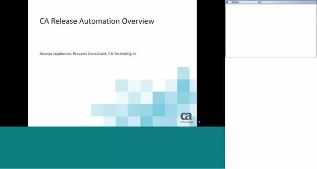 Release Automation Use Case and Live Demo