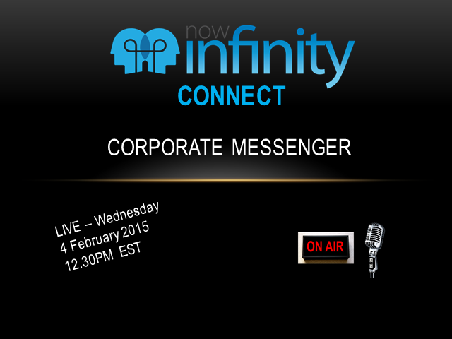 NowInfinity Corporate Messenger - The Revolution in Company Management Begins
