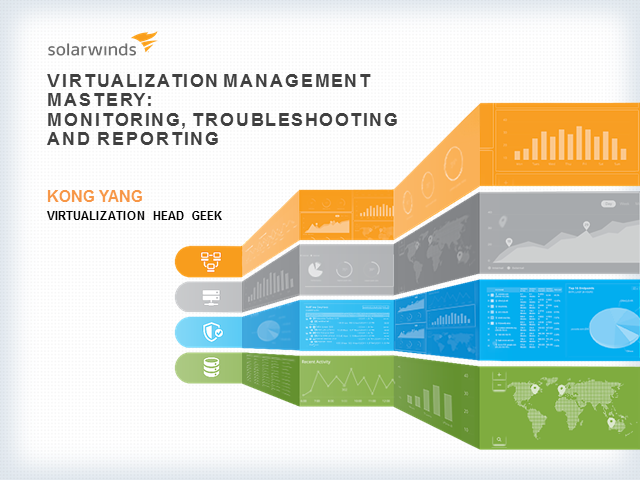 Virtualization Management Mastery: Monitoring, Troubleshooting, and Reporting