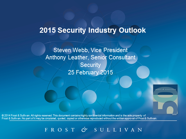 2015 Security Industry Outlook