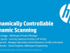 Dynamically Controllable Dynamic Scanning