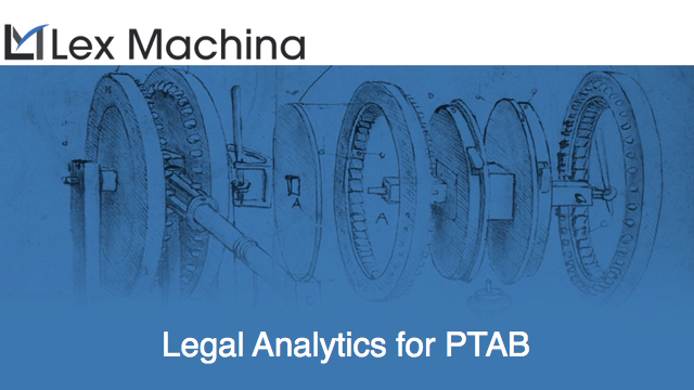 Legal Analytics for PTAB