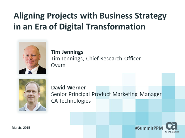 Aligning Projects with Business Strategy in an Era of Digital Transformation
