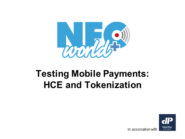 Testing Mobile Payments: HCE and Tokenization