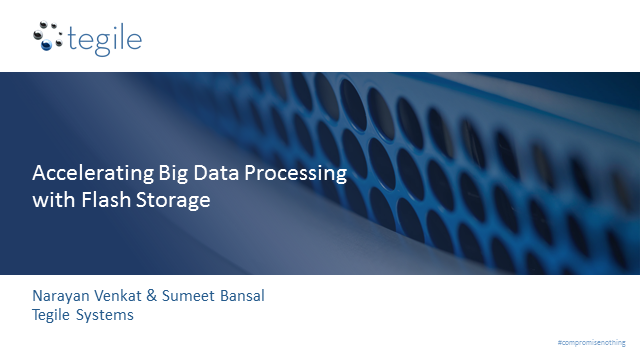 Knocking Out Big Data Storage Performance and Capacity Challenges