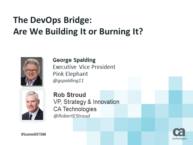 DevOps!  How Come We Didn't Think of This Sooner?