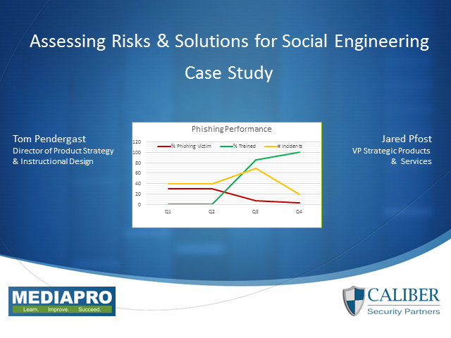 Assessing Risks & Solutions for Social Engineering