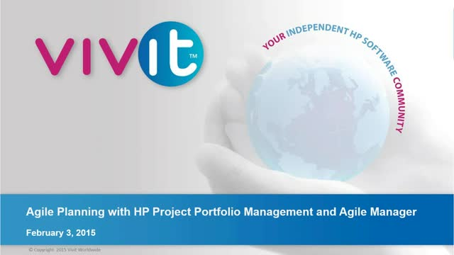 Agile Planning with HP Project Portfolio Management and Agile Manager