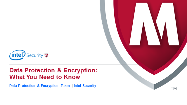 Coffee Break Webinar: What You Need to Know About Data Protection & Encryption