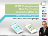 ITSM Strategies need Best Practices for Demand and Use too