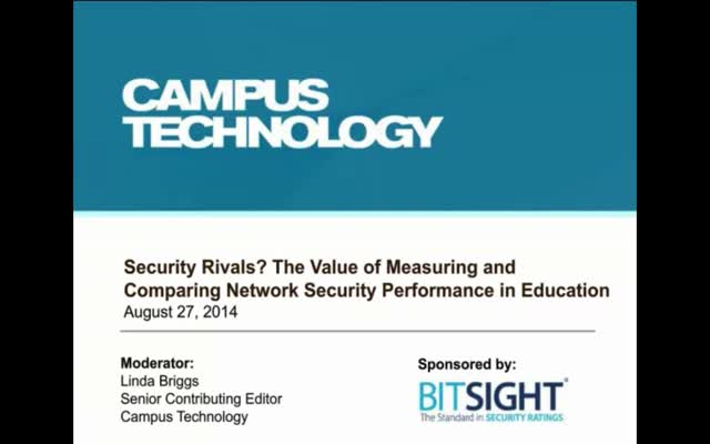 Security Rivals? The Value of Measuring & Comparing Network Security Performance