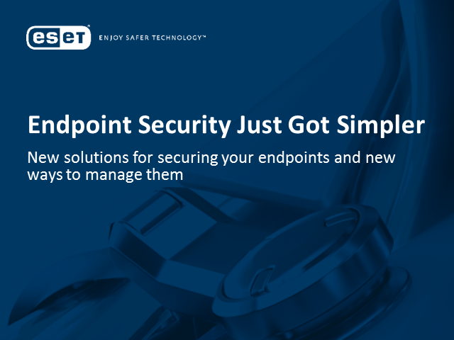 Endpoint Security Just Got Simpler