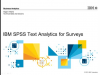 Text Analytics for Surveys
