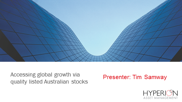 Access Global Growth Via Quality Listed Australian Stocks