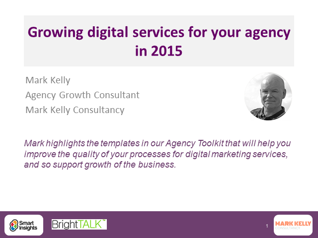 Growing digital services for your agency in 2015