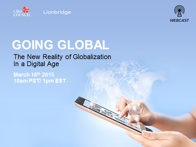 Going Global The New Reality of Globalization in a Digital Age