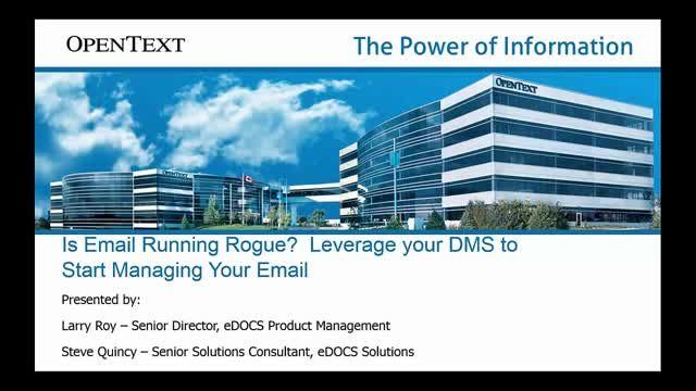 Is your email running rogue? Leverage your DM to start managing your email