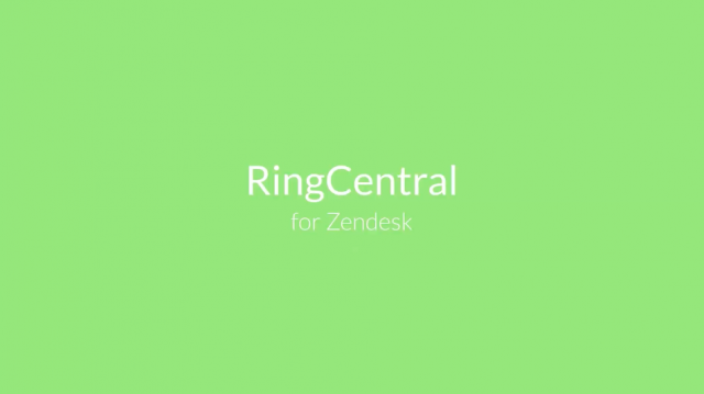RingCentral for Zendesk: Enhance your customer service experience