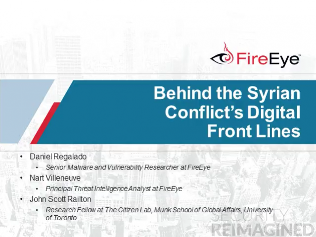 In-depth Analysis Behind the Syrian Conflict's Digital Front Lines