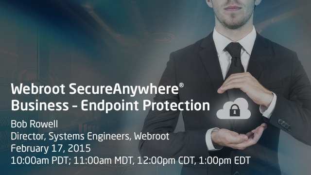 Webroot SecureAnywhere® Business – Endpoint Protection