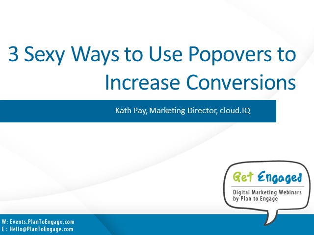 3 sexy ways to use popovers to increase conversions