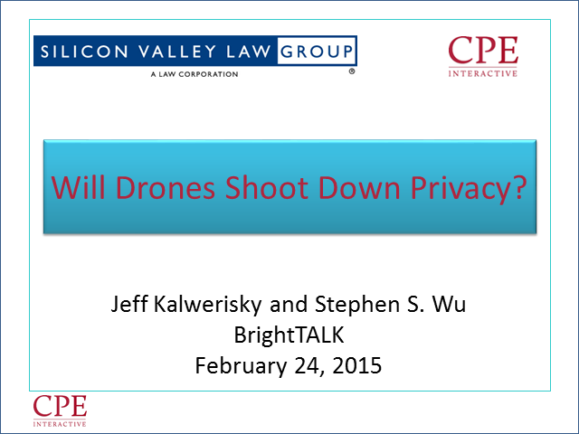 Will Drones Shoot Down Privacy?
